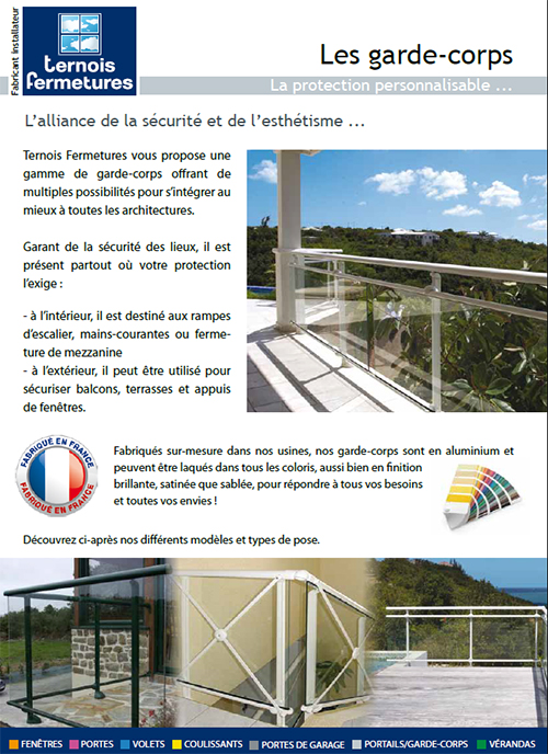documentation balustrades