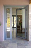 porte entree aluminium vitree