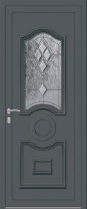 Ambleteuse - Vrai vitrail V4 Bevel clair - 7012
