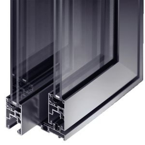 baie coulissante aluminium extrême