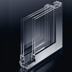 Baie coulissant aluminium Moderne