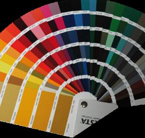 Les couleurs ALU