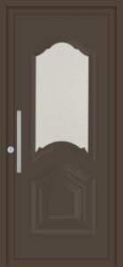 Honfleur vitrage sablé 7016