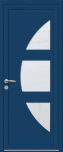 Philadelphie - Sablage uni - Bleu 5010