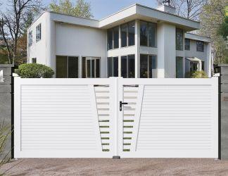Portails PVC
