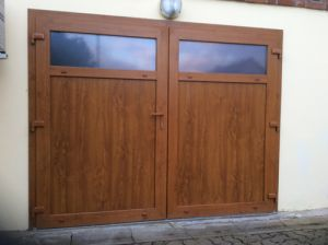Portes de garage ternois fermetures for Portes de garage battantes