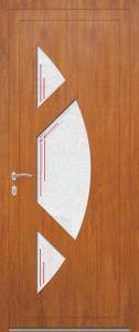 Rome - gauche - vitré V8SPA9 - chêne doré