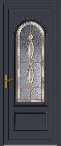 Sangatte - Vrai vitrail V0.17 - Gris 7016