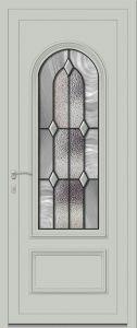 Sangatte - Vrai vitrail V4.5 - Gris 7035