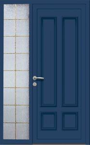 Trémentines - Plein + tierce vitrée - Bleu 5010
