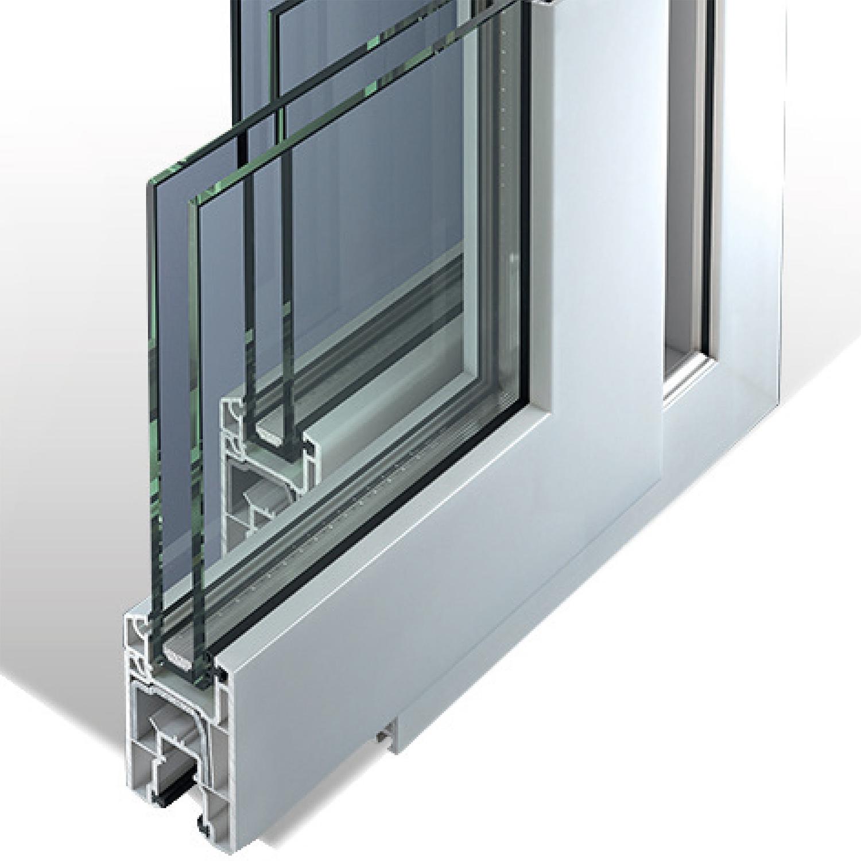 baie vitr e coulissante pvc 2 vantaux ternois fermetures. Black Bedroom Furniture Sets. Home Design Ideas