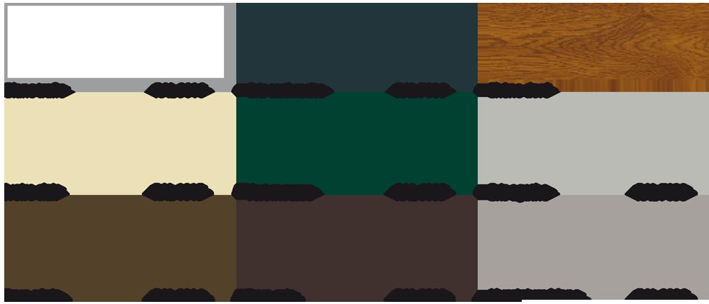 Choisissez la couleur de votre porte de garage ternois for Porte de garage marron