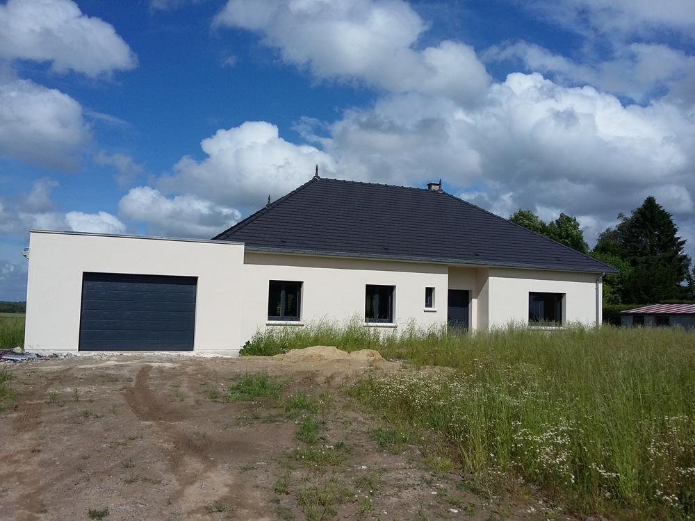 Ternois fermetures fabricant et installateur de fen tres - Maison peinte en gris ...