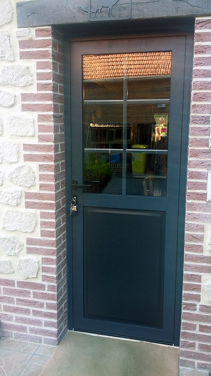 Porte pvc gamme ternois mod le phi - Remplacement panneau porte pvc ...