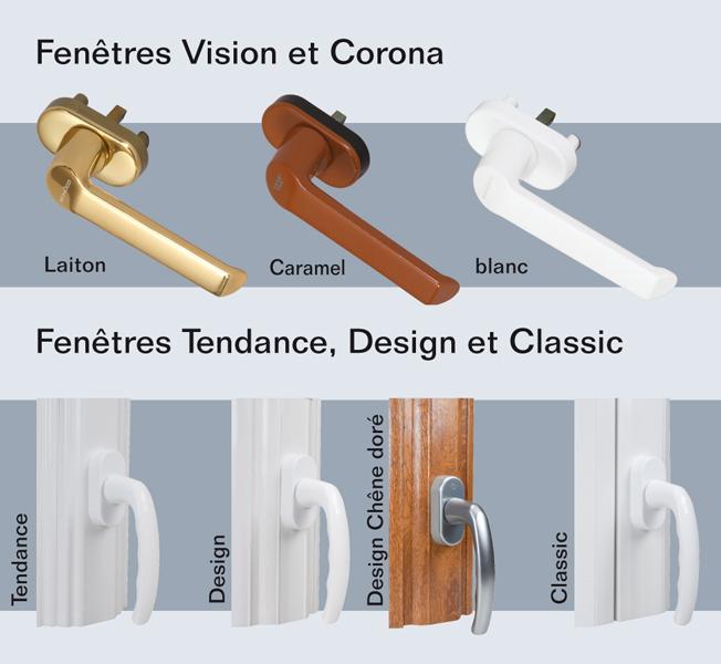 fen tres pvc vitrages et poign es ternois fermetures. Black Bedroom Furniture Sets. Home Design Ideas