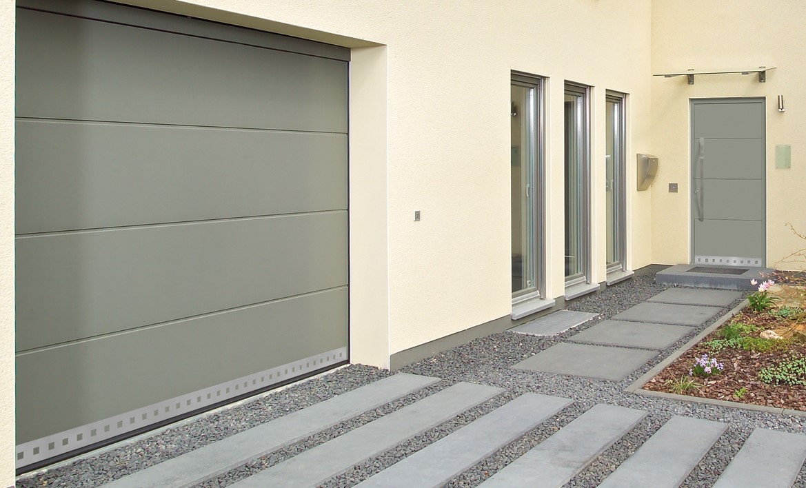 Portes de garage sur mesure ternois fermetures - Porte garage sur mesure ...