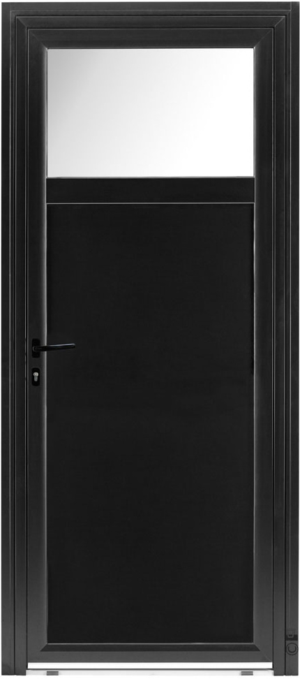 pose d une porte de service pose d 39 une porte de. Black Bedroom Furniture Sets. Home Design Ideas