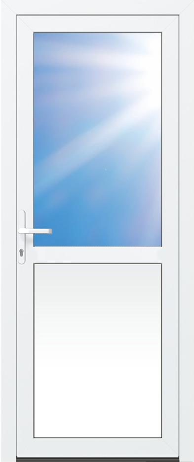 Simple de nombreuses options sont possibles nuhsitez pas - Porte de service pvc anthracite ...