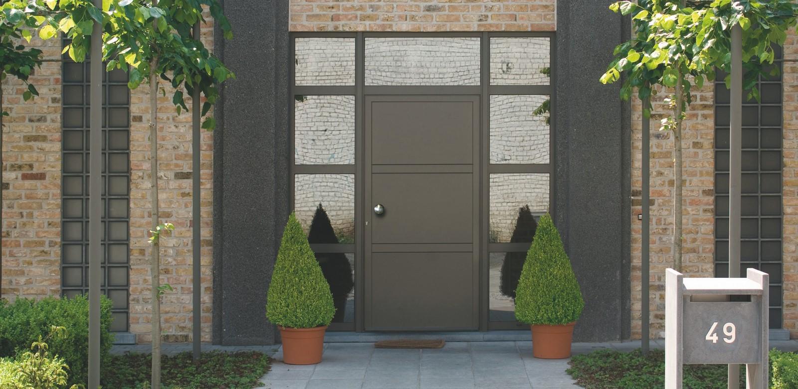 Les Vitrages Décoratifs De Portes Dentrée Ternois Fermetures - Porte d entrée avec tierce