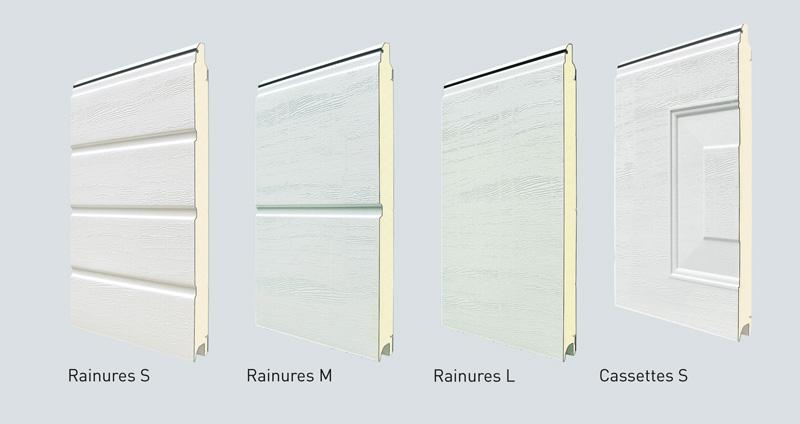 Porte de garage sectionnelle plafond - Panneau porte de garage sectionnelle ...