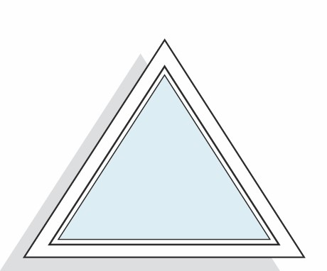 Les formes de fen tres sur mesure pvc et aluminium ternois for Fenetre triangle