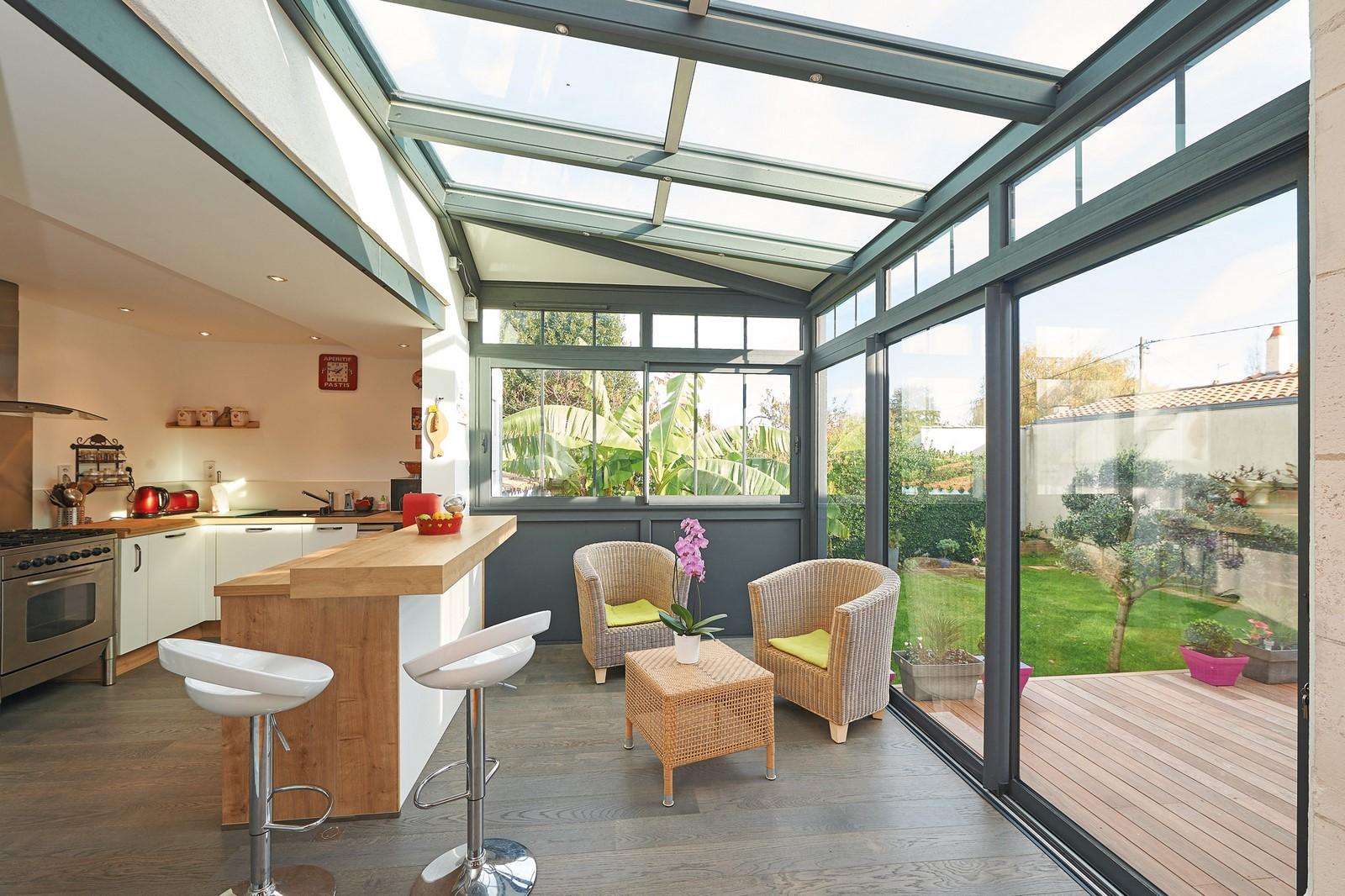 Cr ez votre espace cuisine avec ternois v randas for Veranda cuisine design