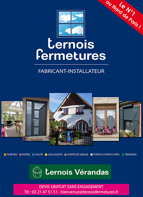 Documentation Ternois Fermetures institutionnelle